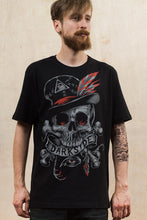 Load image into Gallery viewer, Voodoo Skull Darkside Mens T-Shirt