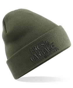 The Fresh Garbage Embroidered Beanie Hat