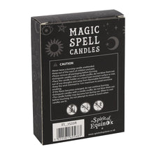 Load image into Gallery viewer, PACK OF 12 PURPLE 'PROSPERITY' SPELL CANDLES