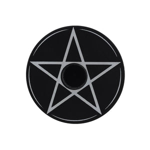 PENTAGRAM SPELL CANDLE HOLDER