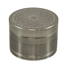 Load image into Gallery viewer, MIX N BLITZ 40mm 4 Part Grinder - GREY