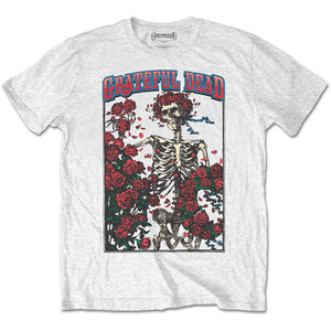 GRATEFUL DEAD UNISEX TEE: BERTHA & LOGO