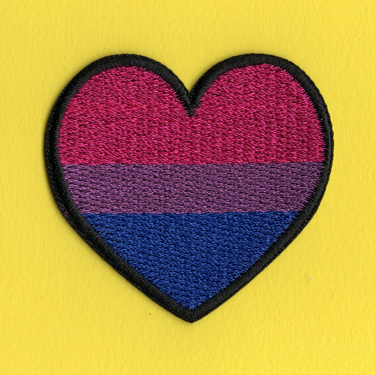 Heart Bisexual Patch