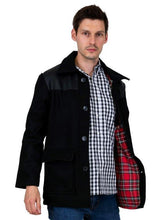 Load image into Gallery viewer, Donkey Jacket with PVC - Black