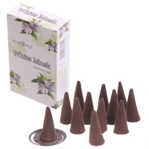 White Musk Incense Cones