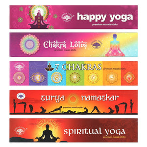 GREEN TREE YOGA COLLECTION INCENSE STICKS