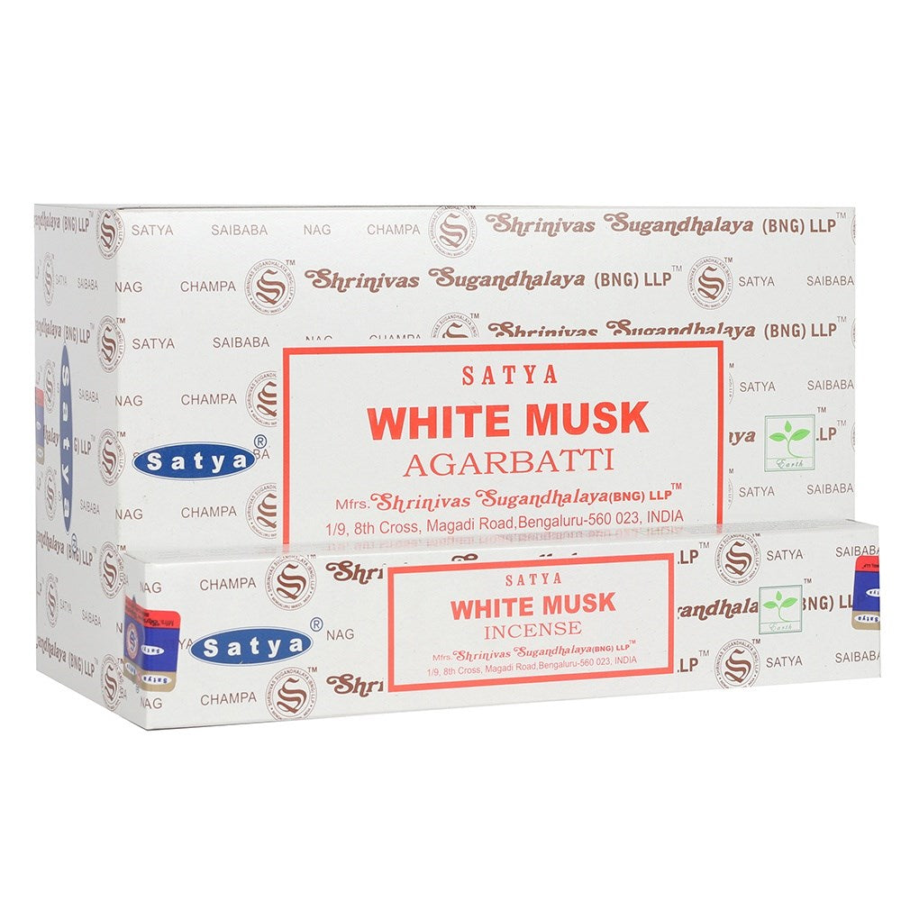 White Musk Incense Sticks