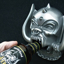 Load image into Gallery viewer, MOTORHEAD BOTTLE OPENER: SNAGGLETOOTH (WALL MOUNTED)