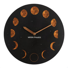 Load image into Gallery viewer, MOON PHASES CLOCK