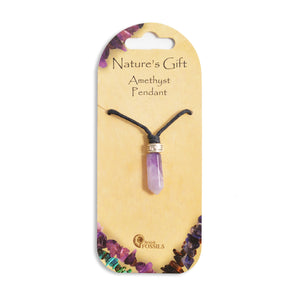 Natures Gift Point Pendants - CHOICE OF 11