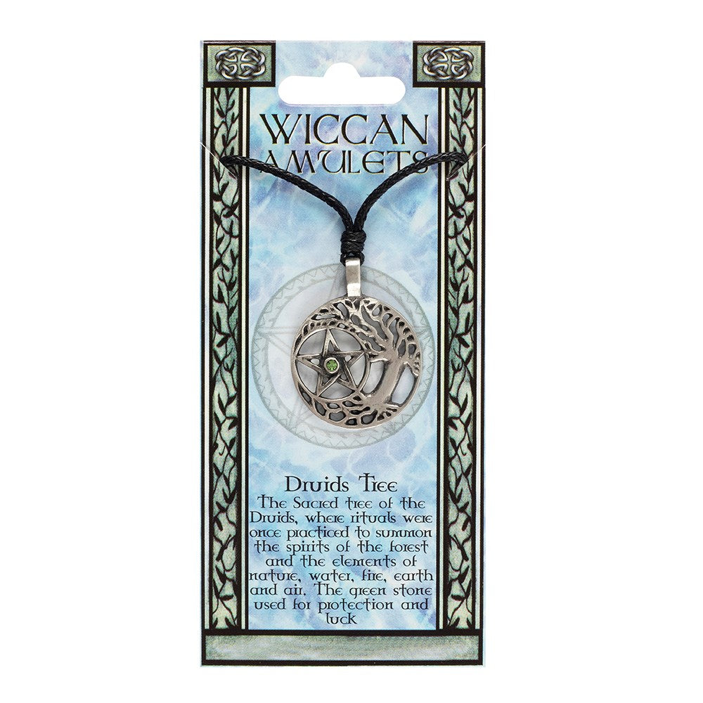 DRUIDS TREE WICCAN AMULET NECKLACE