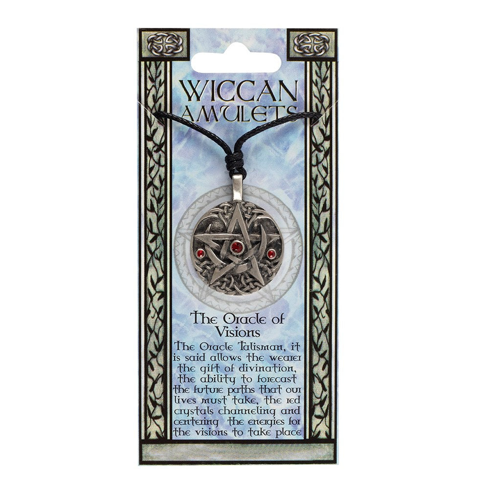 THE ORACLE OF VISIONS WICCAN AMULET NECKLACE