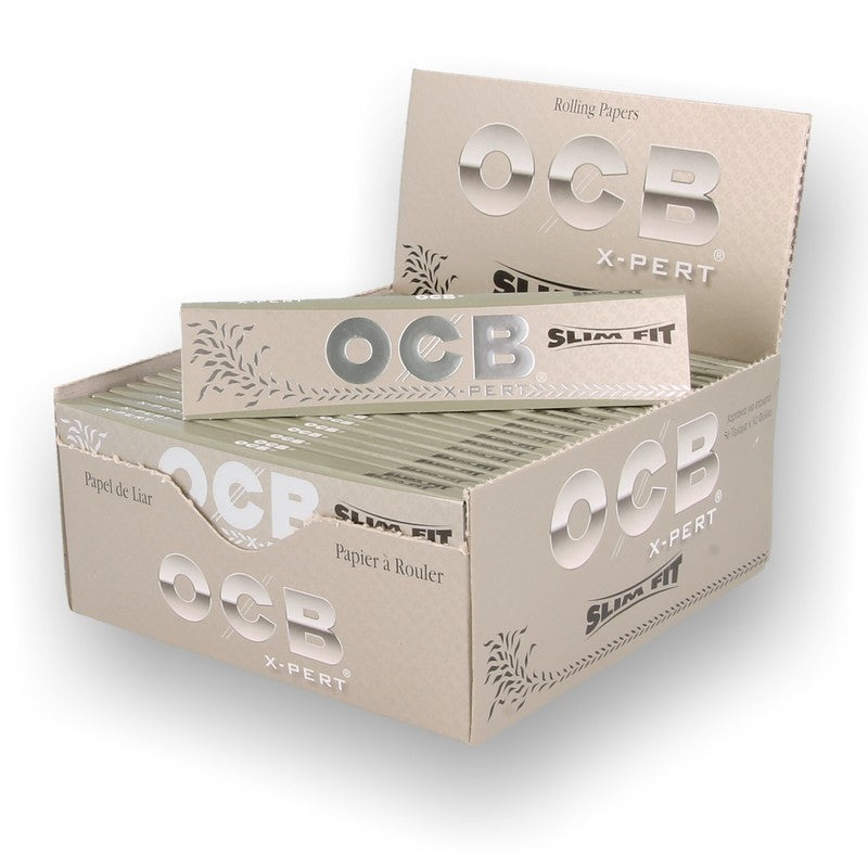 OCB X-PERT Ultra Slim Fit King Size Rolling Papers