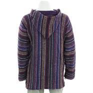 Load image into Gallery viewer, Mexican Baja Jerga Hoody - Purple Multi