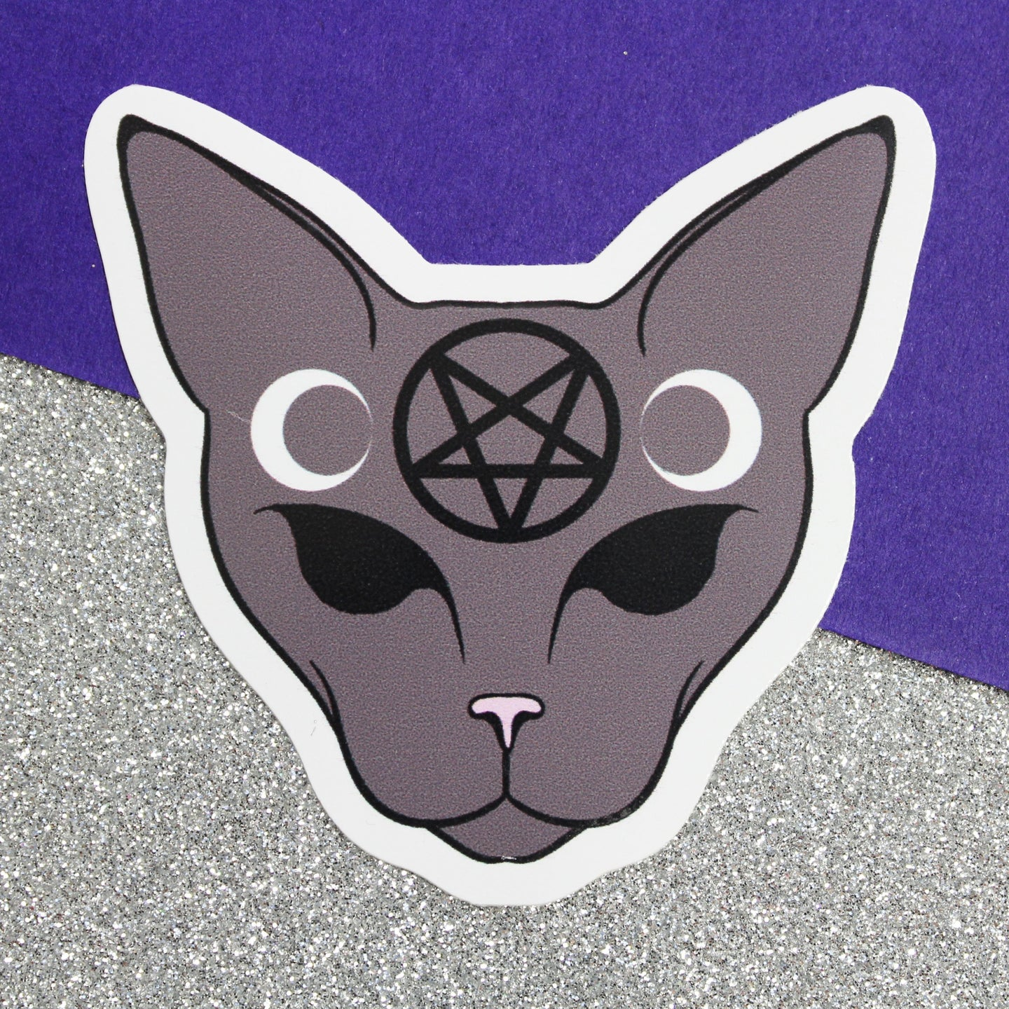 GOTHIC CAT STICKER