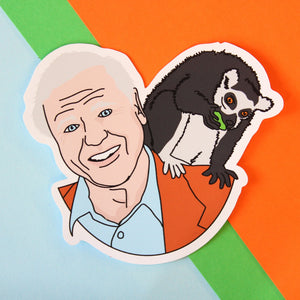 DAVID ATTENBOROUGH STICKER