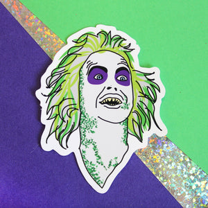 BEETLEJUICE STICKER