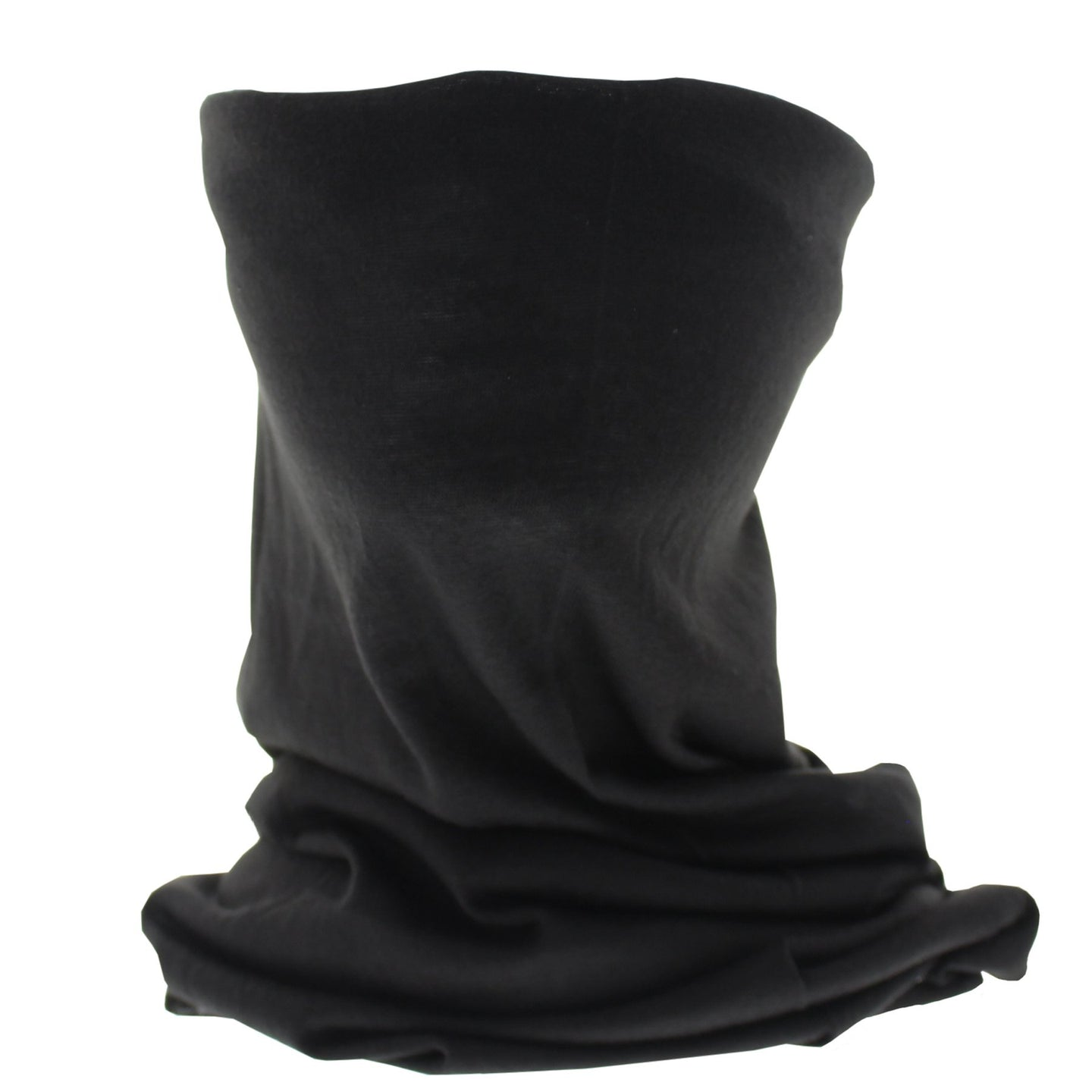 Plain Black Snood/Face Covering