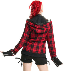 Z JACKET - RED CHECK