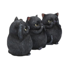 Load image into Gallery viewer, Three Wise Fat Cats 8.5cm