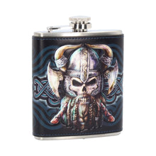 Load image into Gallery viewer, Danegeld Viking Hip Flask 7oz