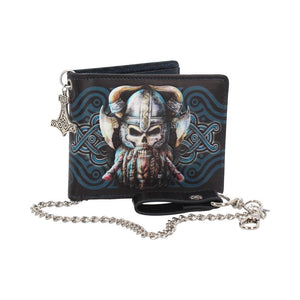 Danegeld Viking Wallet with Decorative Chain