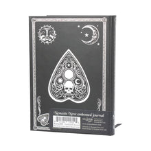 Load image into Gallery viewer, Embossed Journal Black and White Spirit Board