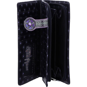 Lisa Parker The Charmed One Pentagram Cat Embossed Purse