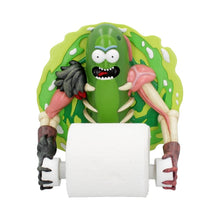 Load image into Gallery viewer, Pickle Rick Toilet Roll Holder