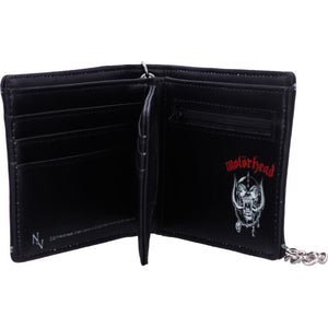 Embossed Motorhead War Pig Ace of Spades Chained Wallet