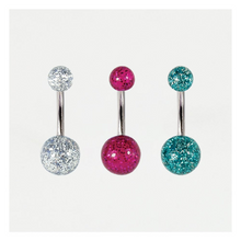 Load image into Gallery viewer, Glitter Belly Bar Acrylic