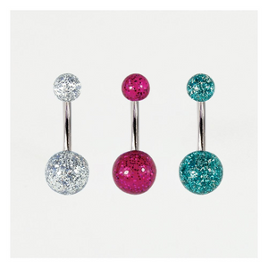 Glitter Belly Bar Acrylic