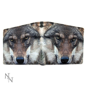 Portrait of a Wolf Embossed Wallet