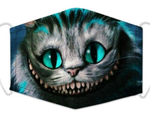 Load image into Gallery viewer, Face Mask - Evil Cat