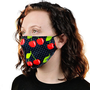 Face Mask - Cherries