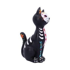 Sugar Puss Figurine Day of the Dead Cat Ornament