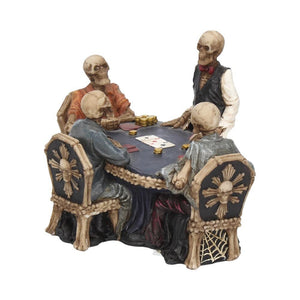 End Game Skeleton Poker Game