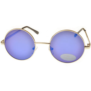 Small Lens Mirrored Penny Sunglasses