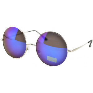 Medium Lens Mirrored Penny Glasses - 4 COLOURS
