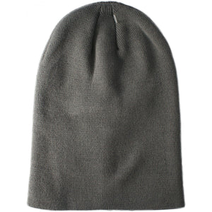 Plain Long Thick Beanie - 8 Colours
