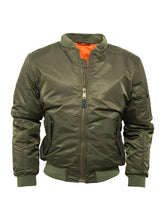 Load image into Gallery viewer, Bomber Jacket - GREEN