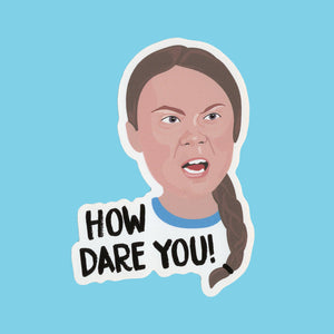 GRETA THUNBERG STICKER