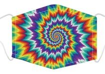 Load image into Gallery viewer, Face Mask - Tie Dye Spiral