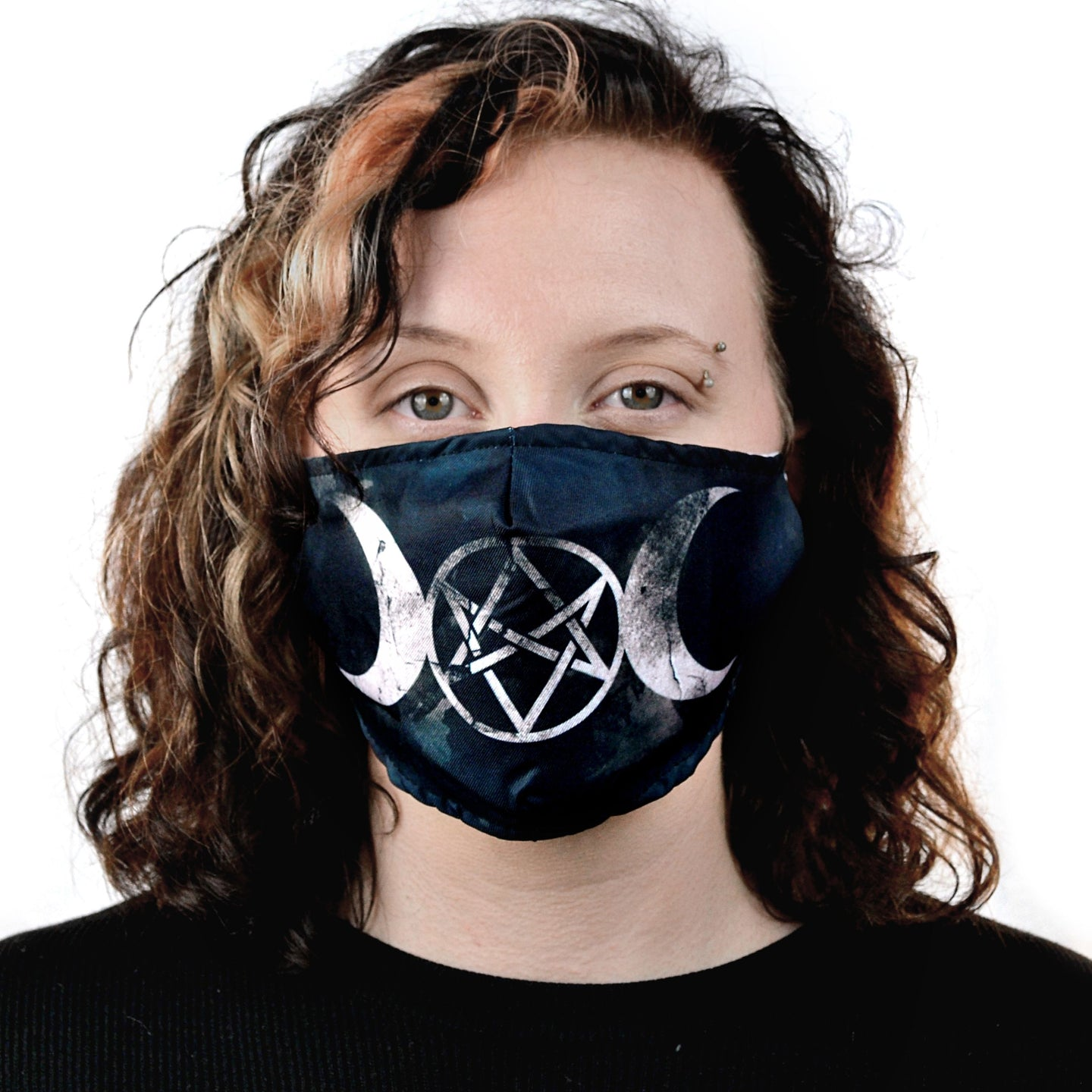 Face Mask - Moon Pentagram