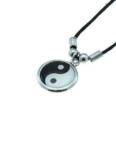 Ying Yang Corded Necklace