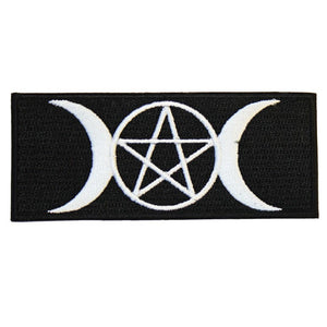 PENTAGRAM AND MOONS PATCH