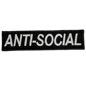 ANTI-SOCIAL PATCH