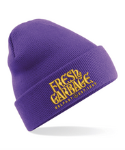 Load image into Gallery viewer, The FRESH GARBAGE Embroidered Beanie Hat - 10 COLOURS !