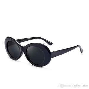 Kurt Cobain Style Black Framed Sunglasses