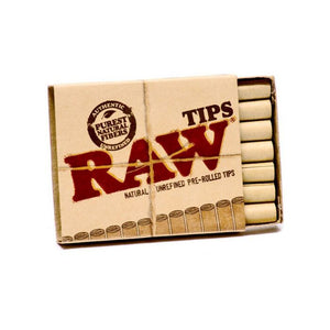 RAW Pre Rolled Roach Tips